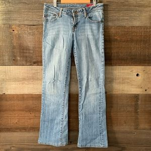 Seven7 Light Denim Flare Jeans